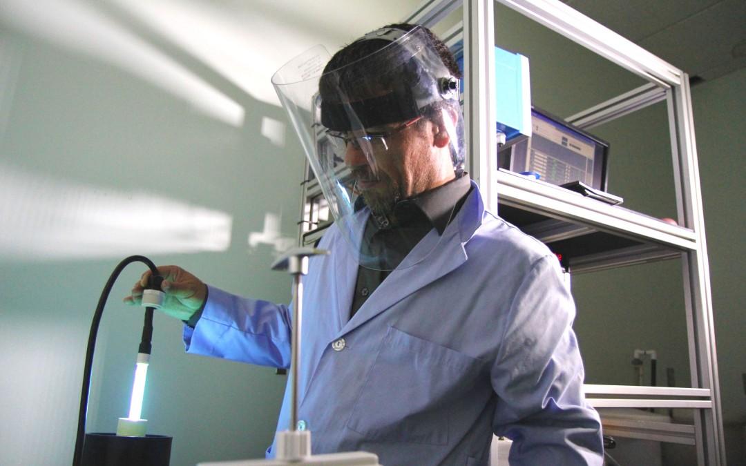 Élaboration d'un protocole et validation de réacteurs UV
