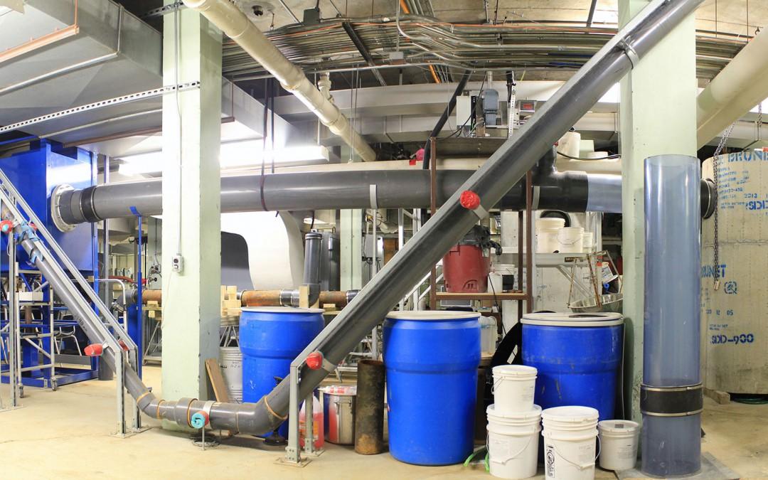 Laboratoire hydraulique pluviale