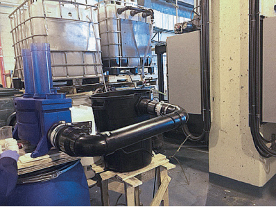 Essais pour réduire la teneur en phosphore des eaux d'effluent des fosses septiques