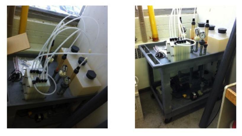 Unité d'électronanofiltration et d'électrodialyse