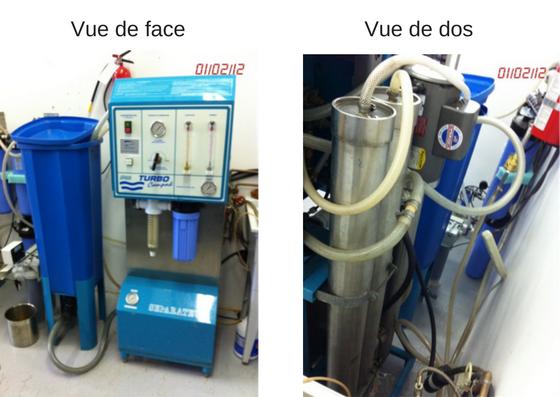Unité de filtration à membranes
