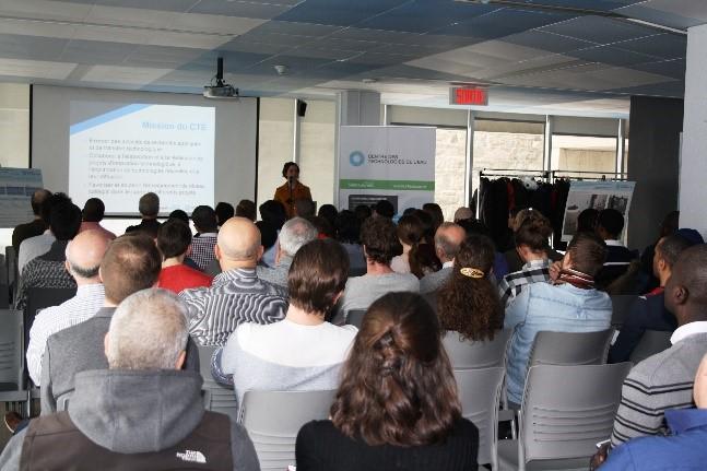 Mot de bienvenu de la directrice de Centre des technologies de l'eau, Édith Laflamme