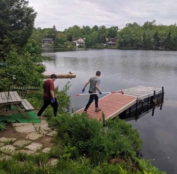 Caractérisation spatiale de la qualité de l'eau du Grand Ruisseau