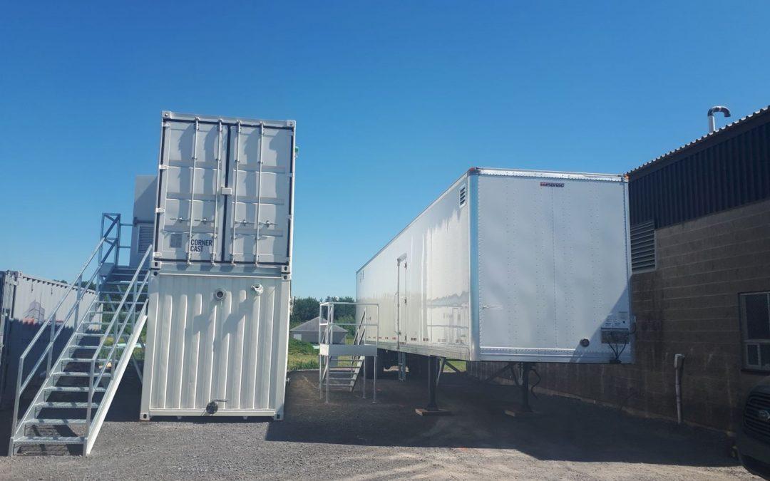 Mise à l'échelle d'un système de traitement des eaux usées intégrant un électrobioréacteur (EBR)