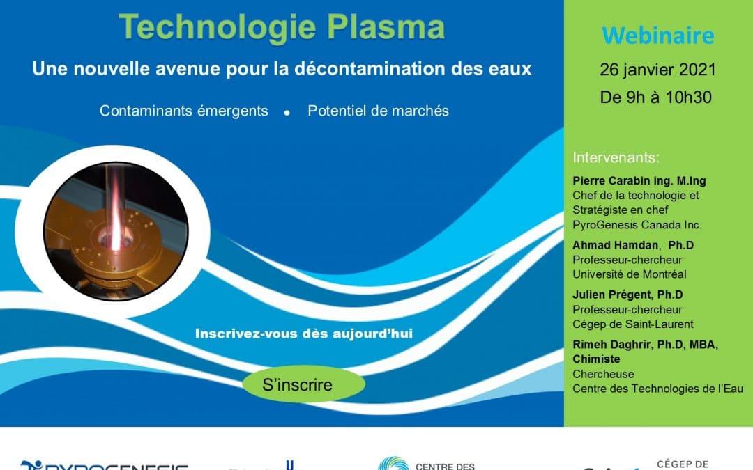Webinaire Technologie Plasma